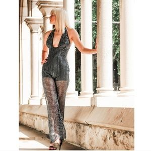 79330 Sequin Jumpsuit